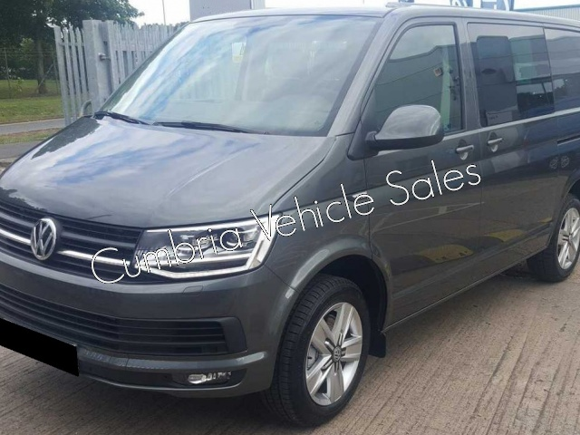 NEW 2018 VW TRANSPORTER T6 HIGHLINE KOMBI VAN 150PS INDIUM GREY