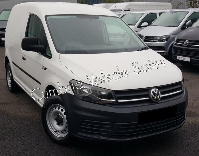 NEW 2018 VW CADDY STARTLINE VAN 75PS