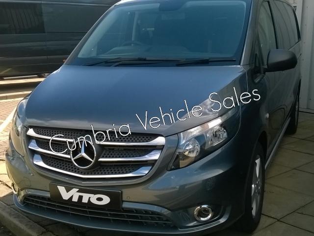 NEW 2018 MERCEDES VITO 119 AUTO SPORT CREW VAN LONG 5 SEAT KOMBI