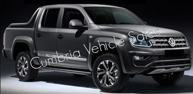 NEW 2018 VW AMAROK DARK LABEL 3.0V6 204PS AUTO DOUBLE CAB PICKUP
