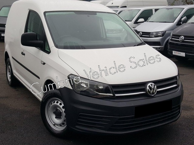 NEW 2018 VW CADDY STARTLINE VAN 75PS