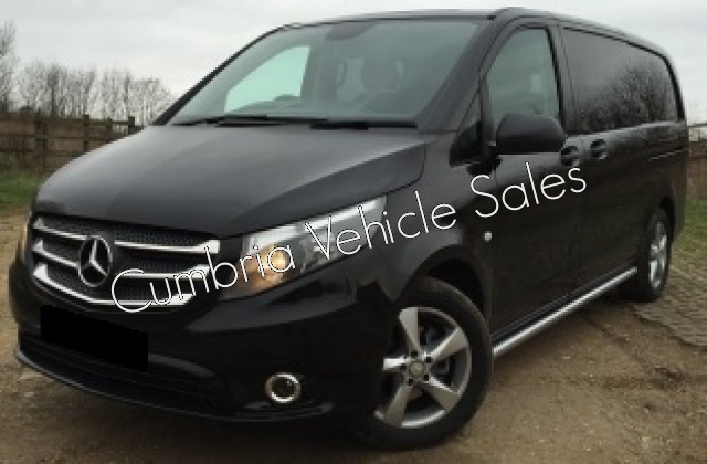 NEW 2018 MERCEDES VITO 116 AUTO SPORT CREW VAN LONG 5 SEAT KOMBI