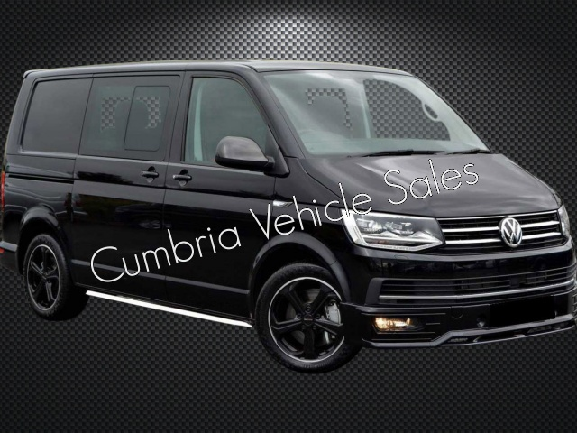 NEW 2019 VW TRANSPORTER SPORTLINE KOMBI SWB T32 204PS DSG